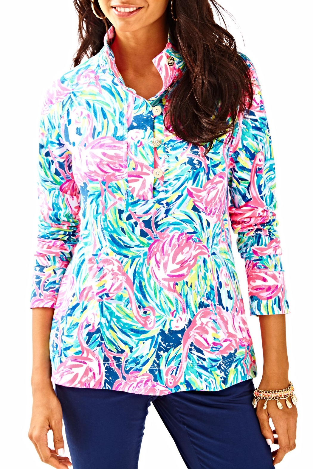 Lilly Pulitzer Windsor Top - Main Image