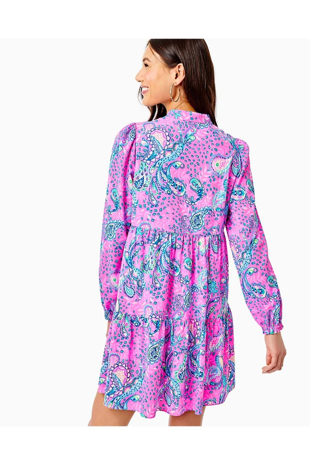 Lilly Pulitzer Winona Stretch Dress - Front Full Image