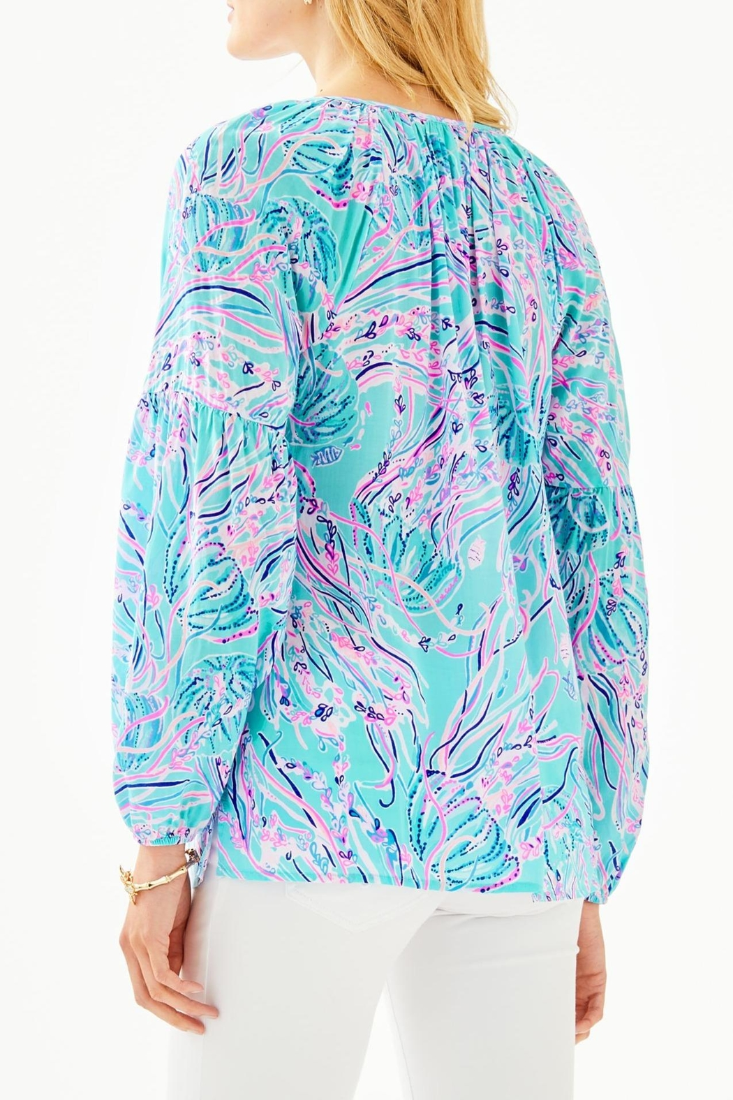 Lilly Pulitzer Winsley Top - Front Full Image