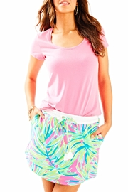 Lilly Pulitzer Terry Pull On Skirt - Product Mini Image