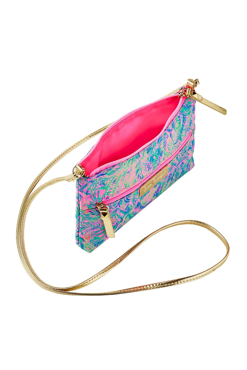 Lilly Pulitzer Zip-It Id Crossbody - Front Full Image