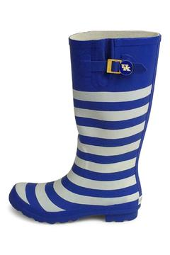Joules Striped Rain Boots from Texas by Dee Dee Style — Shoptiques