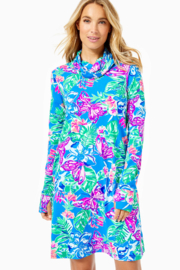 Lilly Pulitzer  Lilshield UPF 50+ Dress (built in mask) - Product Mini Image