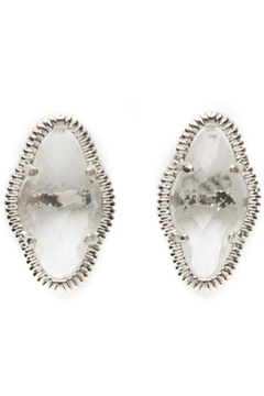 Beaucoup Designs Lily Clear Earrings - Alternate List Image