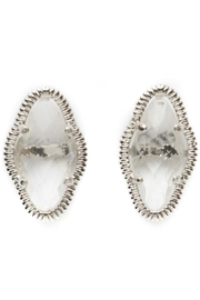 Beaucoup Designs Lily Clear Earrings - Product Mini Image
