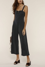 Heartloom Lily Crop Jumpsuit - Front cropped