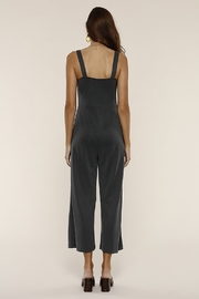 Heartloom Lily Crop Jumpsuit - Front full body
