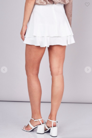 Do + Be  Lily Double Layer Mini Skort - Side cropped