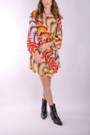 Traffic People Lily Fan Dress - Front cropped