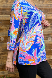 Lady's World Lily P Inspired Blouse - Front full body