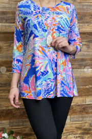 Lady's World Lily P Inspired Blouse - Front cropped