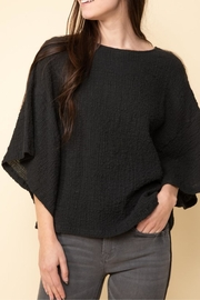 Cashmere N Tee Lily Scrunch Top - Product Mini Image