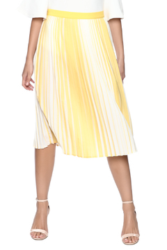 lily white Yellow Striped Skirt - Product List Image