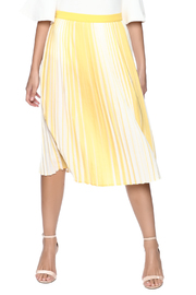 lily white Yellow Striped Skirt - Product Mini Image