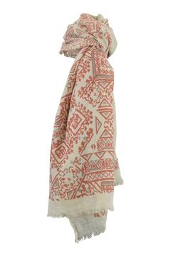 Lily and Lionel Aztec Print Scarf - Product List Image
