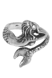 Lily Chartier Pearls Adjustable Mermaid Ring - Front cropped