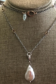 Lily Chartier Pearls Charm Necklace - Product Mini Image