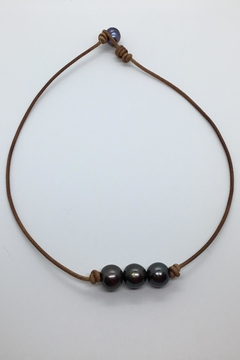 Lily Chartier Pearls Leather And Pearls - Alternate List Image