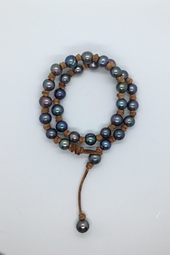 Lily Chartier Pearls Leather And Pearls - Product List Image