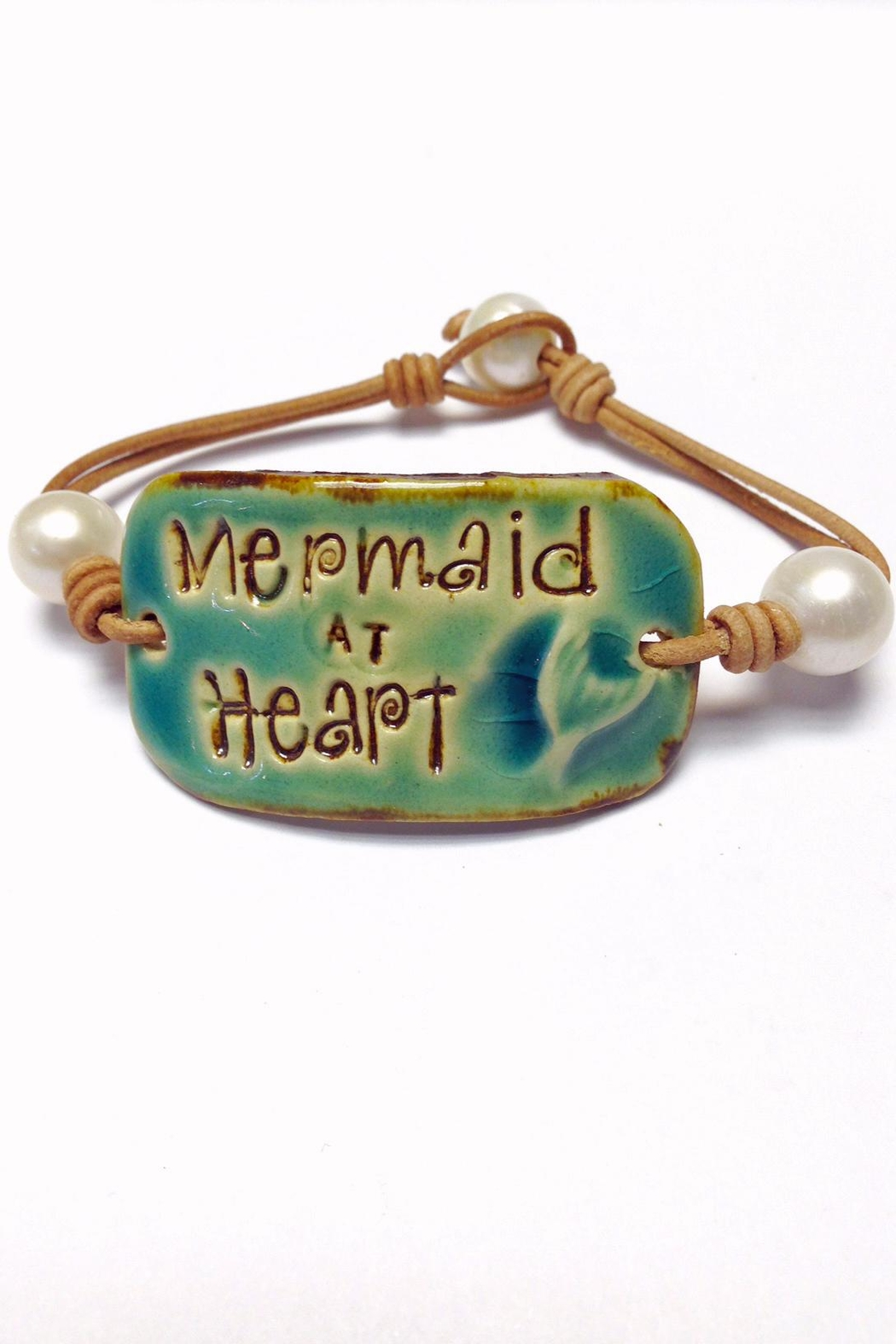 Lily Chartier Pearls Mermaid Leather Bracelet - Main Image
