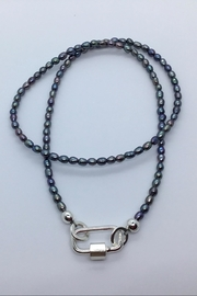 Lily Chartier Pearls Pearl Carabiner Necklace - Product Mini Image