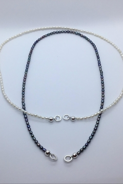 Lily Chartier Pearls Pearl Carabiner Necklace - Alternate List Image