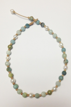 Shoptiques Product: Pearls And Amazonite