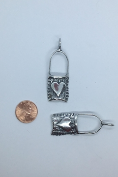 Lily Chartier Pearls Sterling Silver Treasure Bag Pendant - Alternate List Image