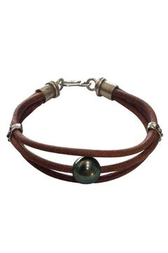 Shoptiques Product: Tahitian Leather Bracelet