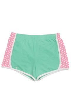 LILY GRACE Mint And Coral Dot Shorts - Alternate List Image