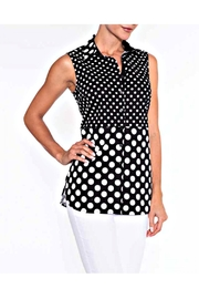 Lily Moss Sleeveless Polka Dot Blouse - Product Mini Image