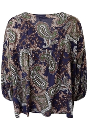 LILYA Elson Paisley Top - Back cropped
