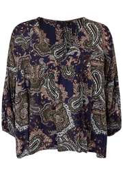 LILYA Elson Paisley Top - Side cropped
