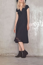 LILYA Ira Embroidered Dress - Product Mini Image