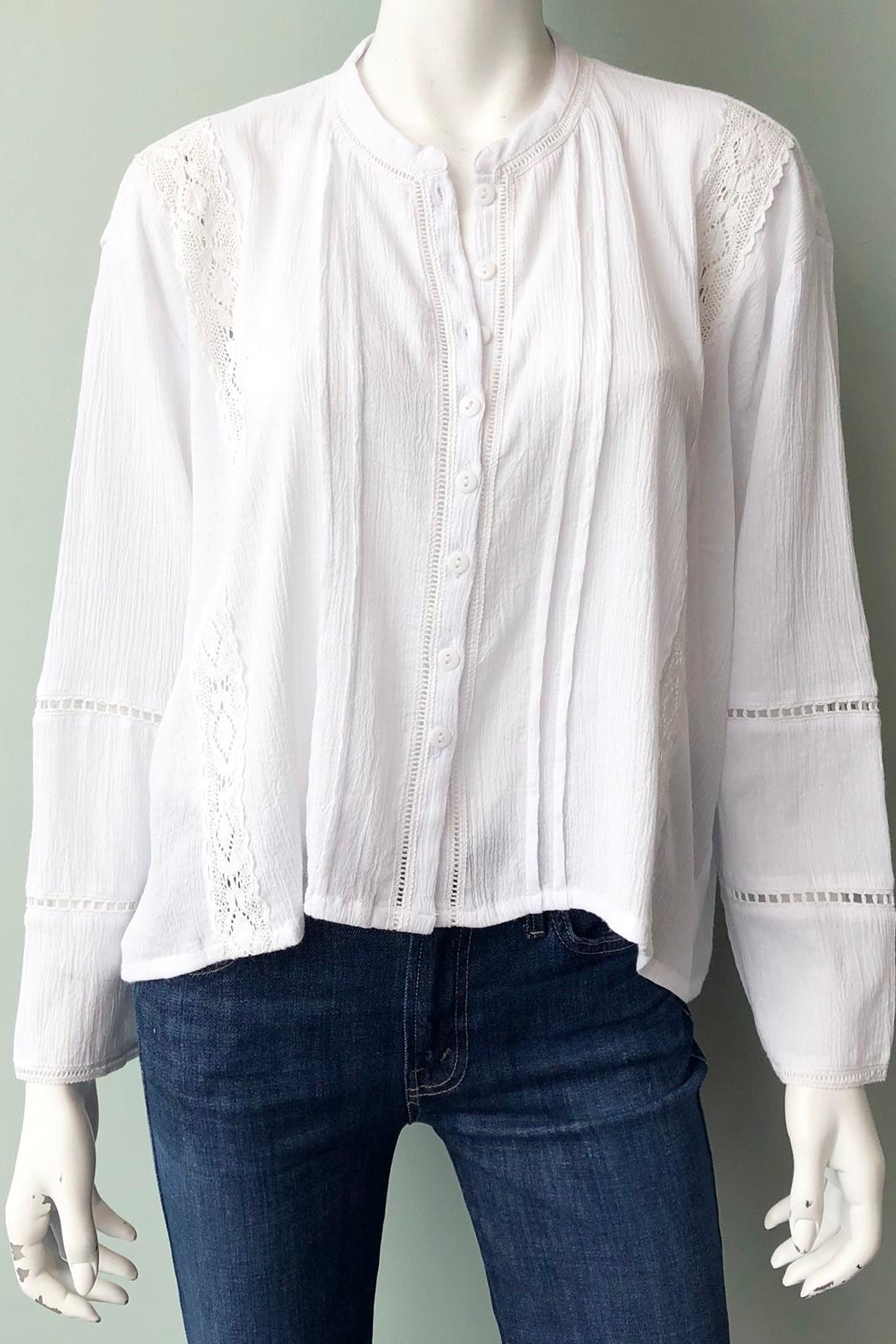LILYA Sisi Blouse - Front Cropped Image