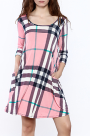 Lilypad  Plaid Swing Dress - Product Mini Image