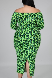 Goodtimes lime bodycon - Front full body