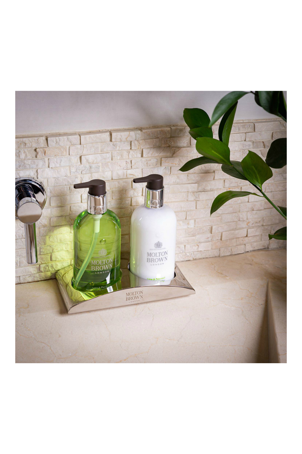 Molton Brown LIME & PATCHOULI HAND FINE LIQUID HAND WASH - Side Cropped Image