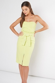 Idem Ditto  Lime Tube Dress - Product Mini Image