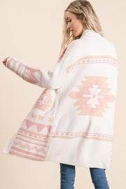 Lime n Chili Aztec Bohemian Tribal Multi Color Long Sleeve Knit Cardigan - Other