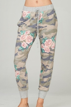 Shoptiques Product: Floral Camouflage Loungpants