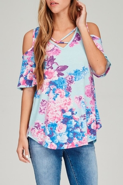 Shoptiques Product: Floral Print Top