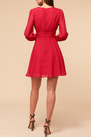 Adelyn Rae Lina Fit and Flare Dress - Front full body