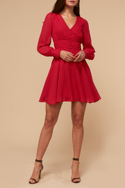 Adelyn Rae Lina Fit and Flare Dress - Product Mini Image