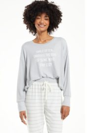 z supply Lina Smile Cozy Pullover - Product Mini Image