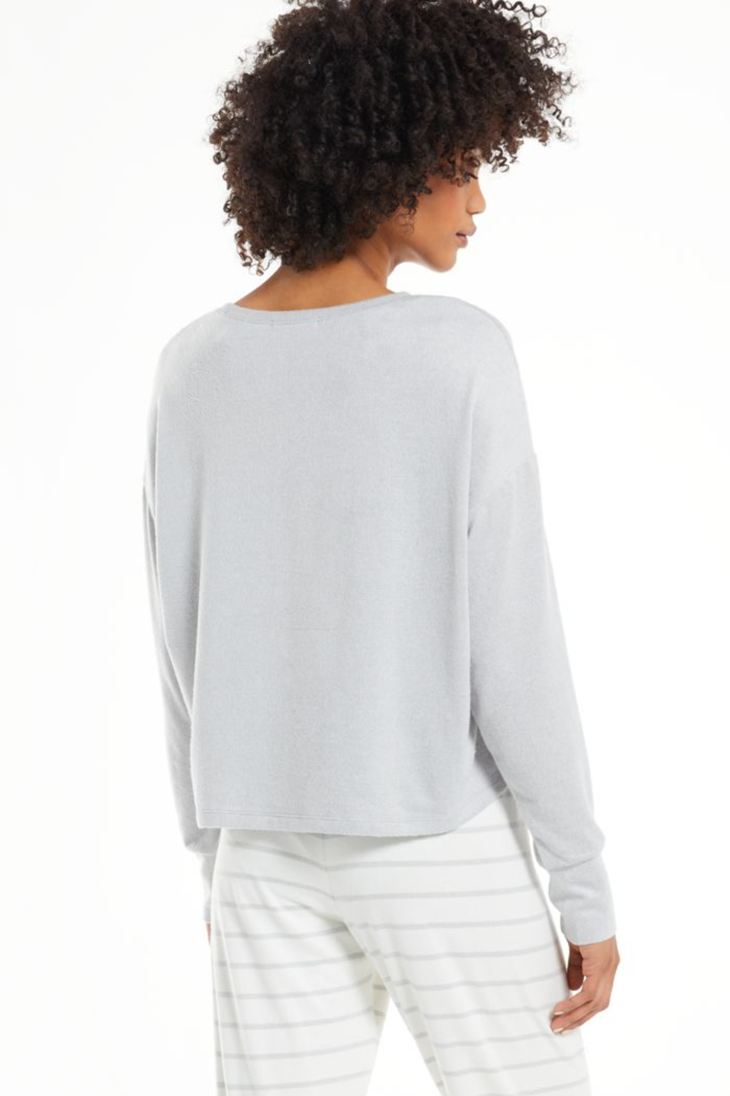 z supply Lina Smile Top - Side Cropped Image