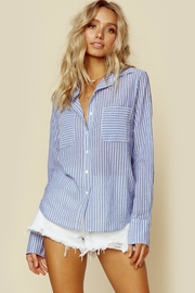 Blue Life Lina Top - Front cropped