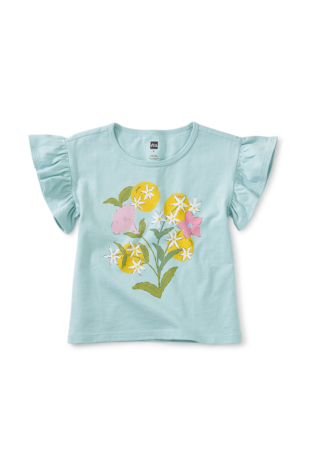 Tea Collection  Linda Flor Flutter Tee - Main Image