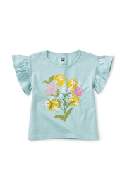 Tea Collection  Linda Flor Flutter Tee - Front cropped