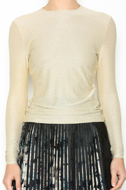 Linda Leal Metallic Sparkle Top - Other